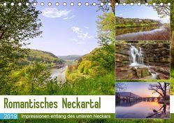 Romantisches Neckartal (Tischkalender 2019 DIN A5 quer) von Matthies,  Axel