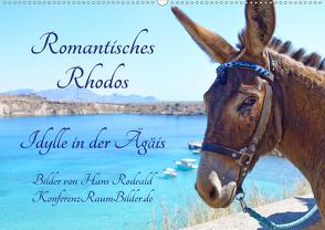 Romantisches Rhodos – Idylle in der Ägäis (Wandkalender 2020 DIN A2 quer) von Rodewald CreativK.de,  Hans