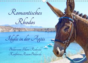 Romantisches Rhodos – Idylle in der Ägäis (Wandkalender 2020 DIN A3 quer) von Rodewald CreativK.de,  Hans