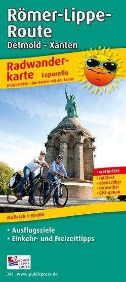 Römer-Lippe-Route, Detmold – Xanten