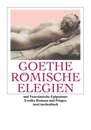 Römische Elegien und Venezianische Epigramme von Birus,  Hendrik, Eibl,  Karl, Goethe,  Johann Wolfgang