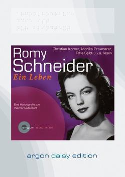 Romy Schneider (DAISY Edition) von Praxmarer,  Monika, Seibt,  Tatja, Sudendorf,  Werner