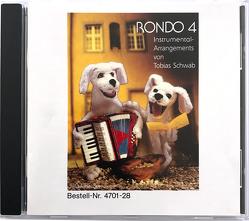 RONDO 4, Instrumental-Arrangements, Altausgabe von Keller,  Karl H, Kerger,  Jürgen, Kist,  Othmar, Schwab,  Tobias