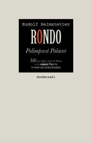 RONDO von Helmstetter,  Rudolf