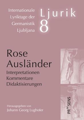 Rose Ausländer von Lughofer,  Johann Georg