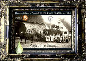 """Röseland 6 """"Historische Umzüge"""" Plieningen Hohenheim Birkach und Studenten von Lunke,  Oerny B"""