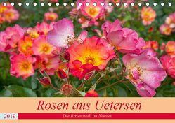 Rosen aus Uetersen (Tischkalender 2019 DIN A5 quer) von Steiner / Matthias Konrad,  Carmen