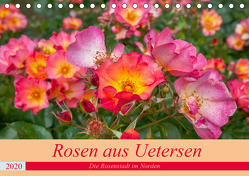 Rosen aus Uetersen (Tischkalender 2020 DIN A5 quer) von Steiner / Matthias Konrad,  Carmen