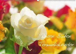 Rosen Blüten Terminkalender (Wandkalender 2018 DIN A2 quer) von Riedel,  Tanja