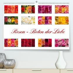 Rosen – Boten der Liebe (Premium, hochwertiger DIN A2 Wandkalender 2020, Kunstdruck in Hochglanz) von Gierok,  Steffen