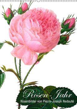 Rosen-Jahr (Wandkalender 2019 DIN A2 hoch) von bilwissedition.com Layout: Babette Reek,  Bilder:
