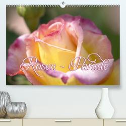 Rosen – Parade (Premium, hochwertiger DIN A2 Wandkalender 2020, Kunstdruck in Hochglanz) von Barig,  Joachim
