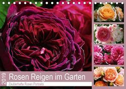 Rosen Reigen im Garten (Tischkalender 2019 DIN A5 quer) von Cross,  Martina