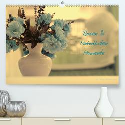 Rosen und Mohnblüten Momente Schweizer EditionCH-Version (Premium, hochwertiger DIN A2 Wandkalender 2020, Kunstdruck in Hochglanz) von Design Fotografie by Tanja Riedel,  Avianaarts