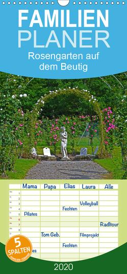 Rosengarten auf dem Beutig – Familienplaner hoch (Wandkalender 2020 , 21 cm x 45 cm, hoch) von Schimon,  Claudia