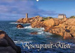 Rosengranit-Küste (Wandkalender 2018 DIN A2 quer) von LianeM,  k.A.