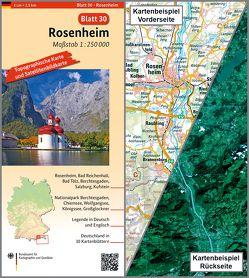 Rosenheim von BKG - Bundesamt für Kartographie und Geodäsie