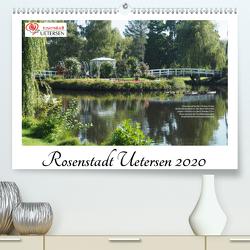 Rosenstadt Uetersen (Premium, hochwertiger DIN A2 Wandkalender 2020, Kunstdruck in Hochglanz) von Rohwer,  Klaus