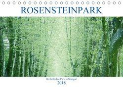 Rosensteinpark – Der bedrohte Park in Stuttgart (Tischkalender 2018 DIN A5 quer) von Allgaier,  Herb