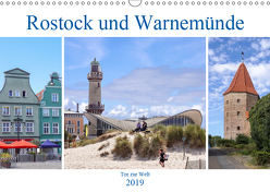 Rostock und Warnemünde – Tor zur Welt (Wandkalender 2019 DIN A3 quer) von Becker,  Thomas