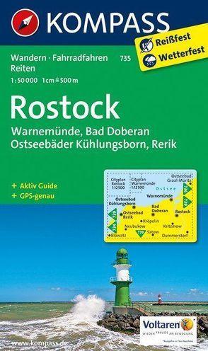 Rostock – Warnemünde – Bad Doberan von KOMPASS-Karten GmbH