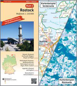 Rostock von BKG - Bundesamt für Kartographie und Geodäsie