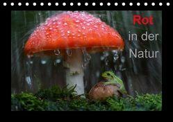Rot in der Natur (Tischkalender 2018 DIN A5 quer) von Bachmeier,  Günter