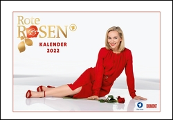 Rote Rosen 2022 – Broschürenkalender – Wandkalender – mit Jahresplaner – Format 42 x 29 cm