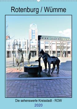 Rotenburg / Wümme – 2020 (Wandkalender 2020 DIN A2 hoch) von Klünder,  Günther