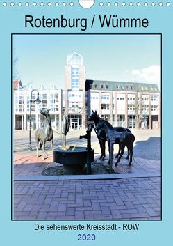 Rotenburg / Wümme – 2020 (Wandkalender 2020 DIN A4 hoch) von Klünder,  Günther