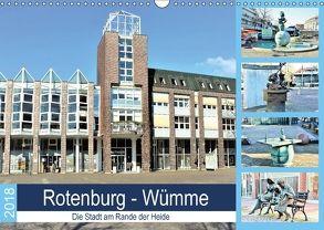 Rotenburg – Wümme. Die Stadt am Rande der Heide (Wandkalender 2018 DIN A3 quer) von Klünder,  Günther