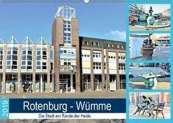 Rotenburg – Wümme. Die Stadt am Rande der Heide (Wandkalender 2019 DIN A2 quer) von Klünder,  Günther