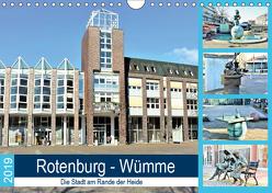 Rotenburg – Wümme. Die Stadt am Rande der Heide (Wandkalender 2019 DIN A4 quer) von Klünder,  Günther
