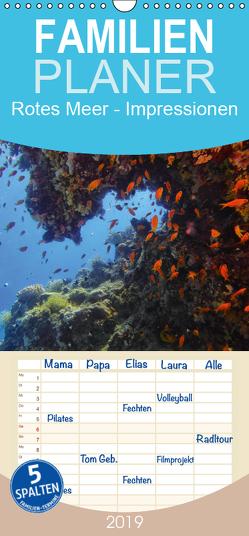 Rotes Meer – Impressionen – Familienplaner hoch (Wandkalender 2019 , 21 cm x 45 cm, hoch) von Eberschulz,  Lars
