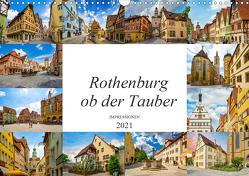 Rothenburg ob der Tauber Impressionen (Wandkalender 2021 DIN A3 quer) von Meutzner,  Dirk