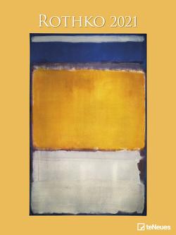 Rothko 2021 – Kunst-Kalender – Poster-Kalender – 48×64 von Rothko,  Mark