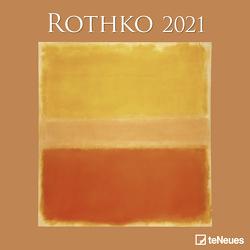Rothko 2021 – Wand-Kalender – Broschüren-Kalender – 30×30 – 30×60 geöffnet – Kunst-Kalender von Rothko,  Mark