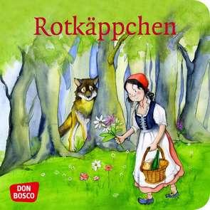 Rotkäppchen. Mini-Bilderbuch. von Grimm Brüder, Lefin,  Petra