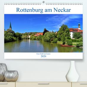Rottenburg am Neckar – Eine Stadt am Limes (Premium, hochwertiger DIN A2 Wandkalender 2020, Kunstdruck in Hochglanz) von Thoma,  Werner
