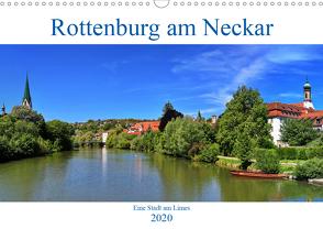Rottenburg am Neckar – Eine Stadt am Limes (Wandkalender 2020 DIN A3 quer) von Thoma,  Werner