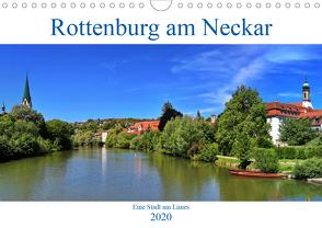 Rottenburg am Neckar – Eine Stadt am Limes (Wandkalender 2020 DIN A4 quer) von Thoma,  Werner