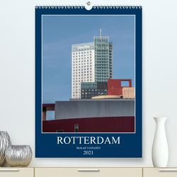 Rotterdam: Blick auf Fassaden (Premium, hochwertiger DIN A2 Wandkalender 2021, Kunstdruck in Hochglanz) von Rechberger,  Gabriele