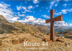 Route 44. Timmelsjoch, Südtirol (Wandkalender 2019 DIN A2 quer) von Männel,  Ulrich, studio-fifty-five