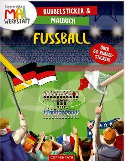 Rubbelsticker & Malbuch von Boehm,  Michael