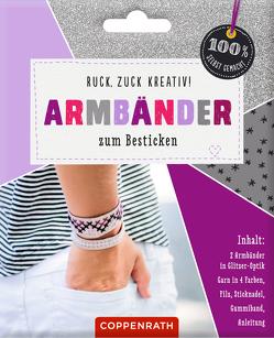 Ruck, zuck kreativ! Armbänder zum Besticken