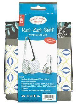 Ruck-Zuck-Stoff Wendetasche Lina von frechverlag