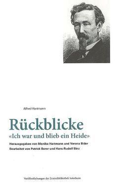 Rückblicke von Bider,  Verena, Binz,  Hans-Rudolf, Borer,  Patrick, Hartmann,  Alfred, Hartmann,  Monika