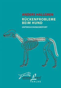 Rückenprobleme beim Hund von Gevatter,  Annette, Hallgren,  Anders, Reinhardt,  C V, Röhl,  Andrea