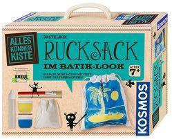 Rucksack im Batik-Look