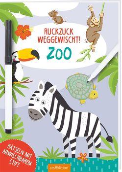 Ruckzuck weggewischt! Zoo von Theissen,  Petra